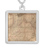 Map of the United States By Abraham Bradley Junior Custom Jewelry