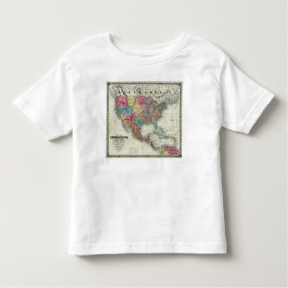 Map Of The United States, Canada, Mexico Tshirts