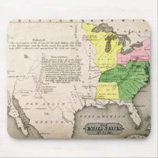 Map of the United States Mouse Pad