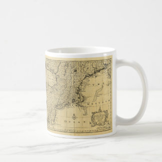 Map of the United States of America (1783) Classic White Coffee Mug