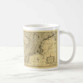 Map of the United States of America (1783) Coffee Mugs