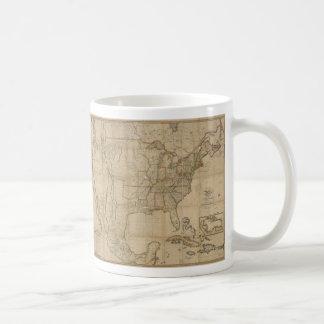 Map of the United States of America (1823) Coffee Mug