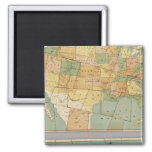 Map of the United States of America 2 Magnets
