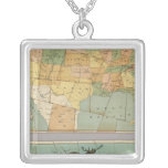 Map of the United States of America 2 Necklace