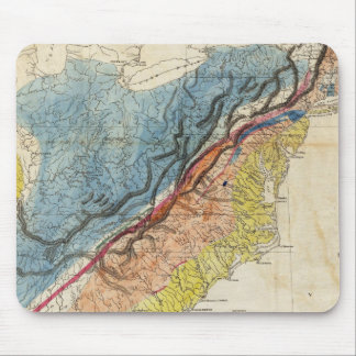 Map of the United States of America 3 Mouse Pad