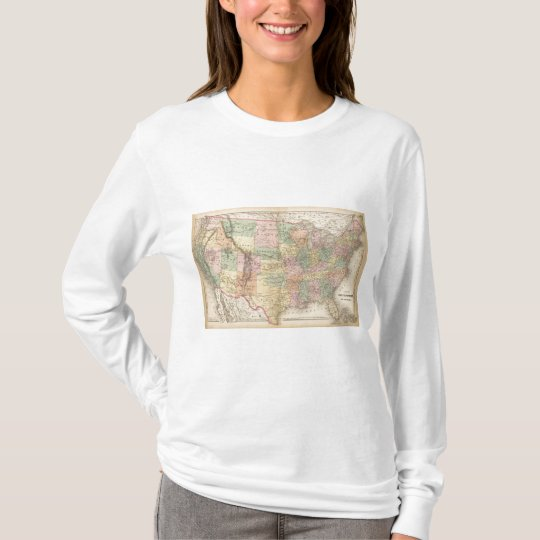 Map of the United States of America 3 T-Shirt