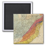 Map of the United States of America 4 Fridge Magnet