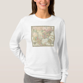 Map of The United States of America T-Shirt