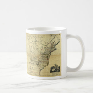 Map of the United States of North America (1811) Mugs