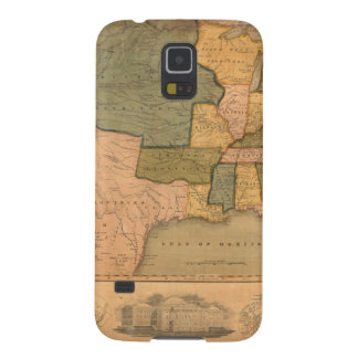 Map of The United States with George Washington Case For Galaxy S5