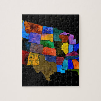 Map of the USA 2 Jigsaw Puzzles