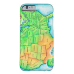Map of the USA iPhone 6 Case