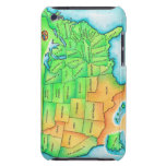 Map of the USA iPod Touch Cover