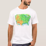 Map of the USA T-Shirt
