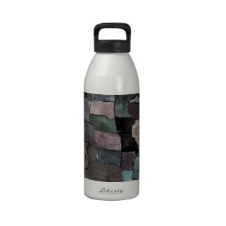Map of the USA Water Bottle