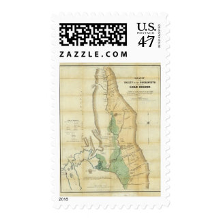 Map of the Valley of the Sacramento Postage