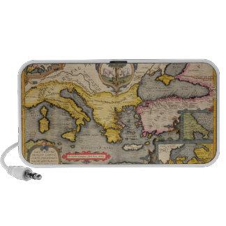 Map of the Voyage of the Argonauts Mini Speaker