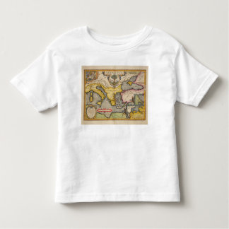 Map of the Voyage of the Argonauts T Shirt