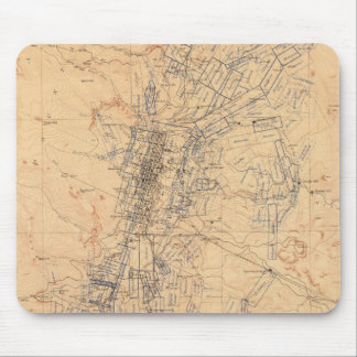 Map of the Washoe District Showing Mining Claims Mouse Pad