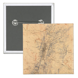 Map of the Washoe District Showing Mining Claims Pinback Button