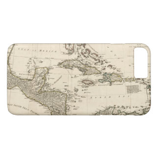 Map of the West Indies by Samuel Dunn (1774) iPhone 8 Plus/7 Plus Case