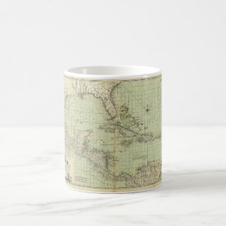Map of the West Indies by William Guthrie (1777) Coffee Mug