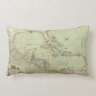 Map of the West Indies by William Guthrie (1777) Pillow