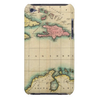 Map Of The West Indies iPod Touch Covers