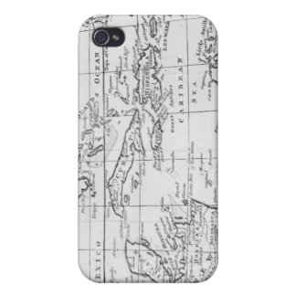 Map of the West Indies iPhone 4/4S Cover