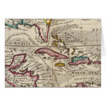 Map of the West Indies, Mexico or New Spain Cards
