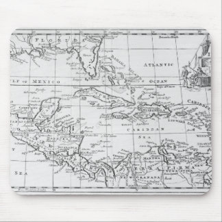 Map of the West Indies Mouse Pad