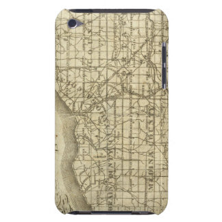 Map of The Western Reserve Barely There iPod Covers