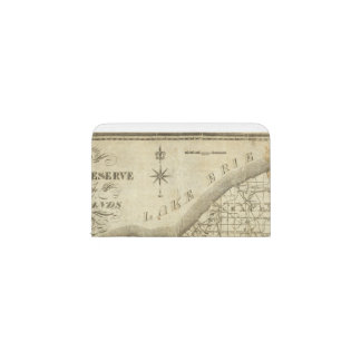Map of The Western Reserve Business Card Holder