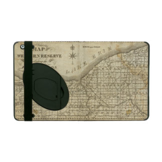 Map of The Western Reserve iPad Folio Case