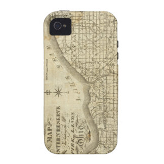 Map of The Western Reserve iPhone 4 Cases