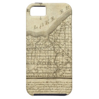 Map of The Western Reserve iPhone 5 Case