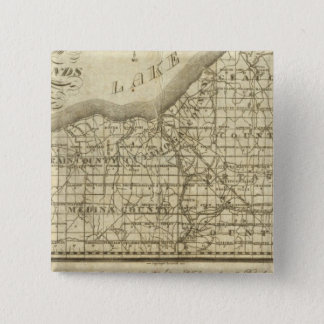 Map of The Western Reserve Pinback Button
