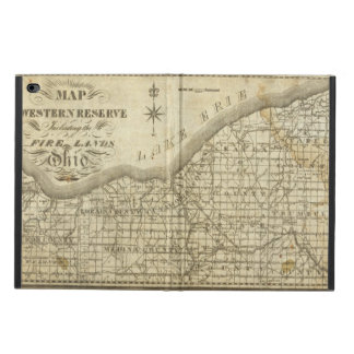 Map of The Western Reserve Powis iPad Air 2 Case