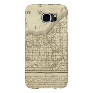 Map of The Western Reserve Samsung Galaxy S6 Case