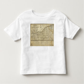 Map of The Western Reserve T Shirts