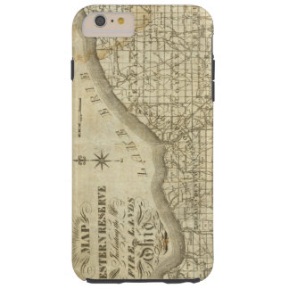 Map of The Western Reserve Tough iPhone 6 Plus Case