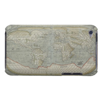 Map of the World 12 iPod Touch Case