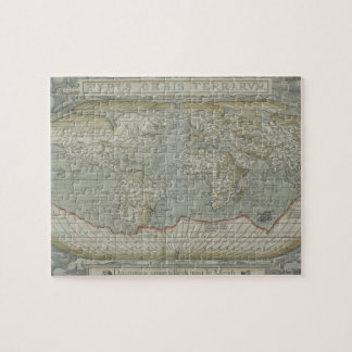 Map of the World 12 Jigsaw Puzzle