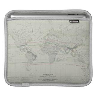 Map of the World 13 iPad Sleeve