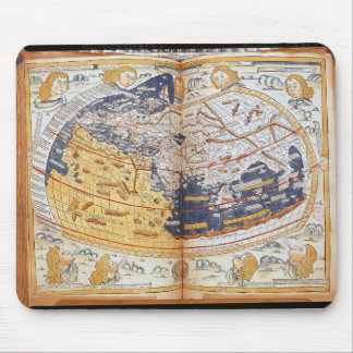 Map of the world, 1486 mouse pad
