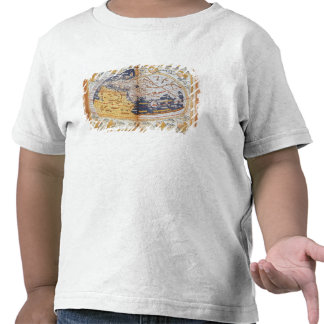 Map of the world, 1486 shirts