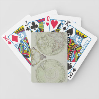 Map of the World 14 Bicycle Playing Cards