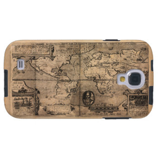 Map of the World (1581) Galaxy S4 Case