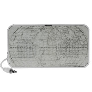 Map of the World 17 Portable Speakers