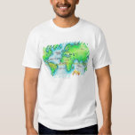 Map of the World 19 T Shirt